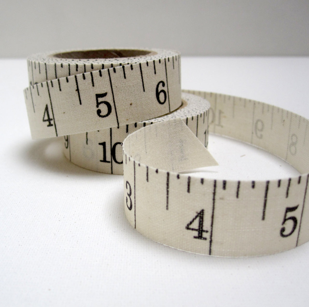 printed ruler ribbon