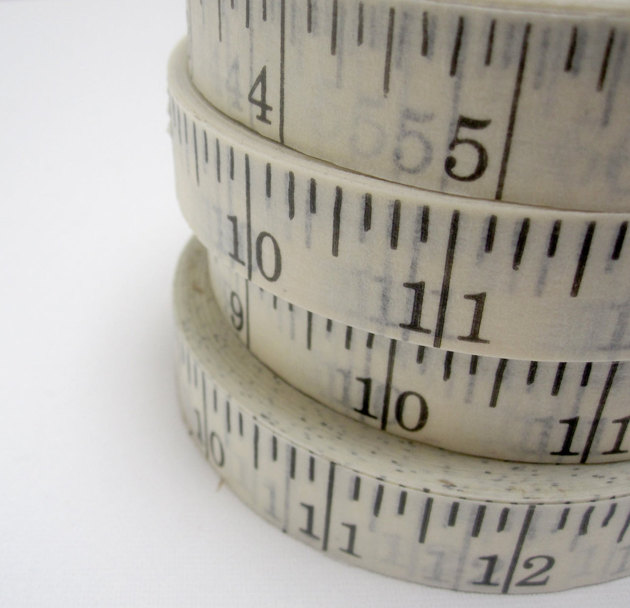 printed ruler tape