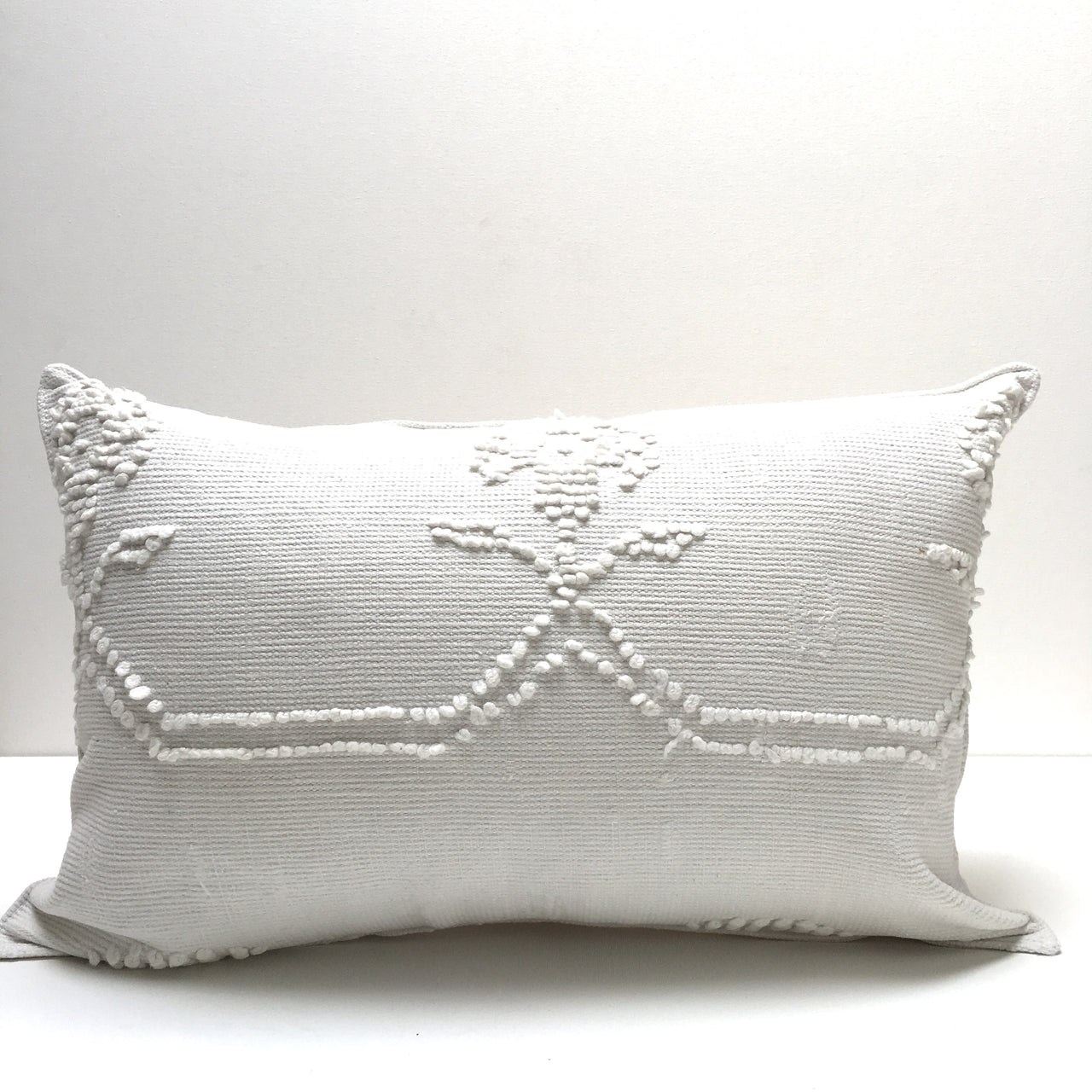 vintage chenille pillows