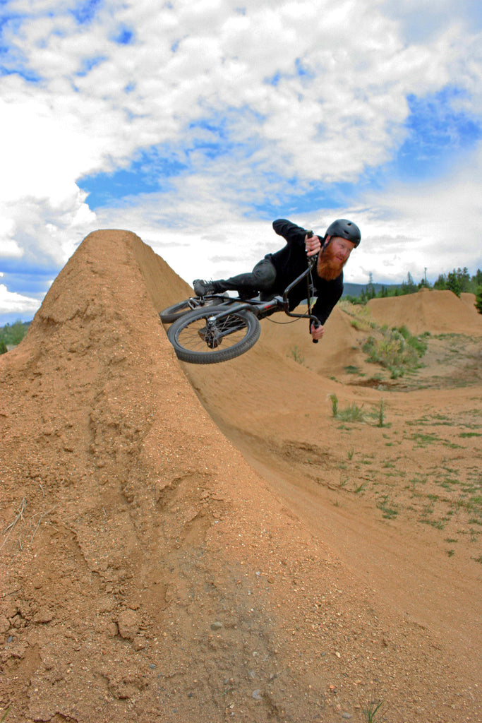Andy Sweet Berm Shot at Frisco Adventure Park. Photo Credit: Preston Levi