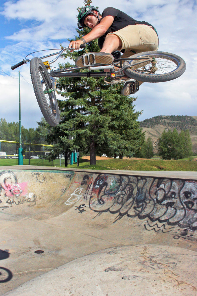 Dirty Dillon Greybeal Toboggan at Gunnison Park. Photo Credit: Preston Levi