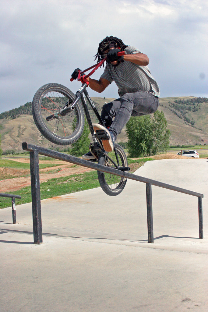 Ernest Peters Ice Pick at Gunnison Park. Photo Credit: Preston Levi