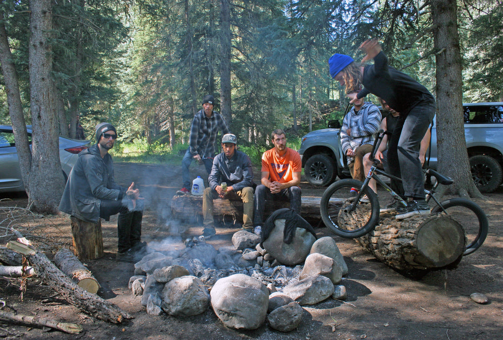 Group at Campsite. Photo Credit: Preston Levi