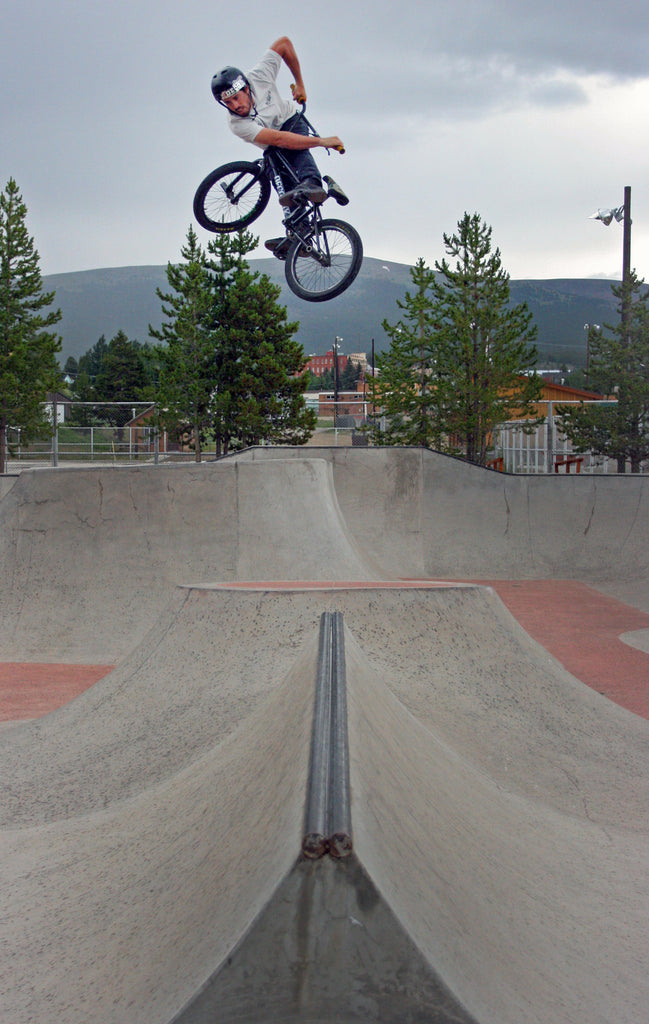 Mat Olson Look Back Transfer at Leadville Park. Photo Credit: Preston Levi