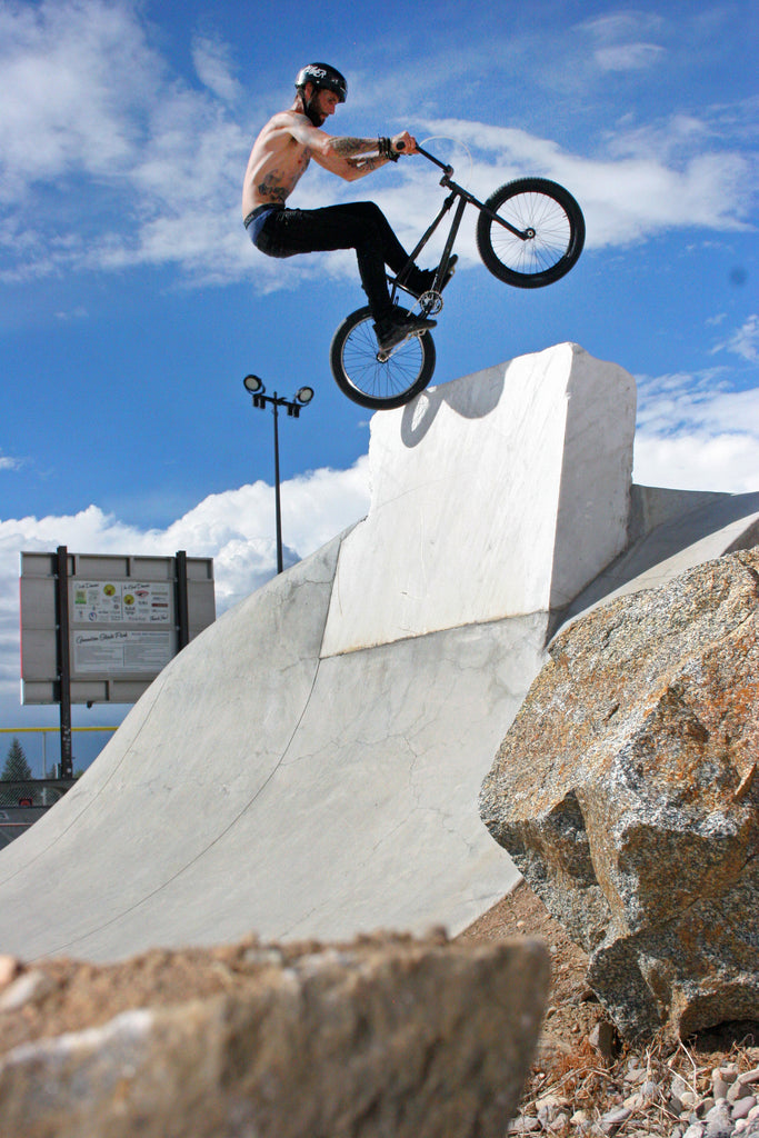 Nic Bonner Fufanu at Gunnison Park. Photo Credit: Preston Levi