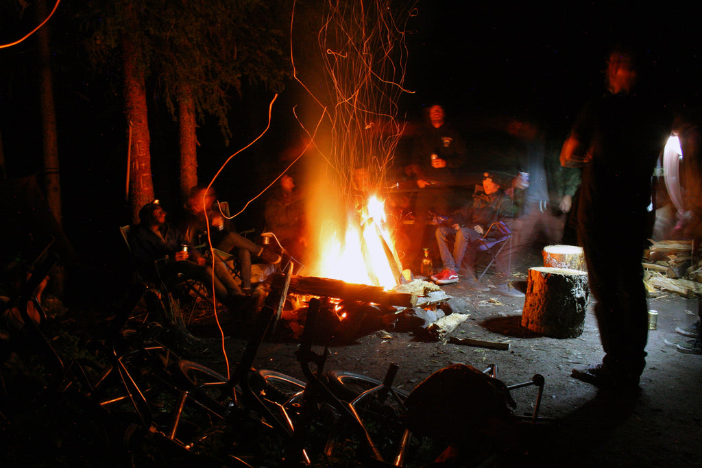 The Last Camp Fire. Photo Credit: Preston Levi