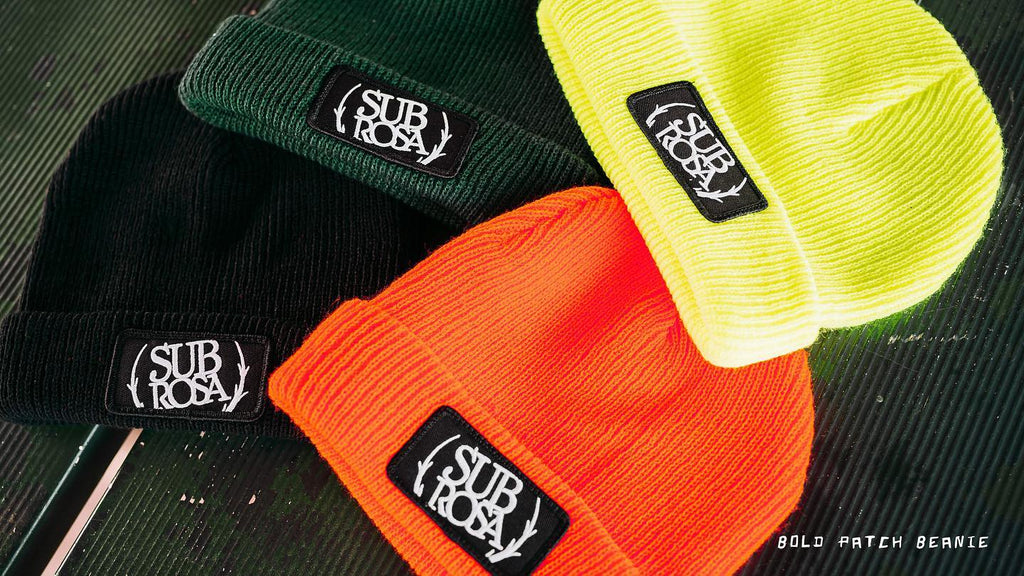 Subrosa Bold Patch Beanie