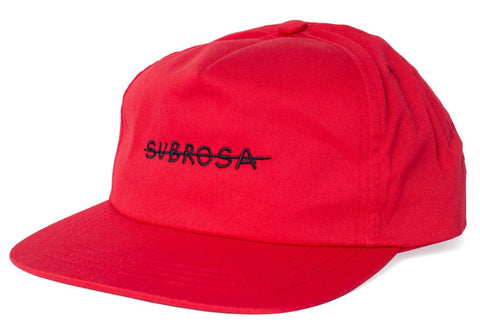 Subrosa Crossed Snapback Hat