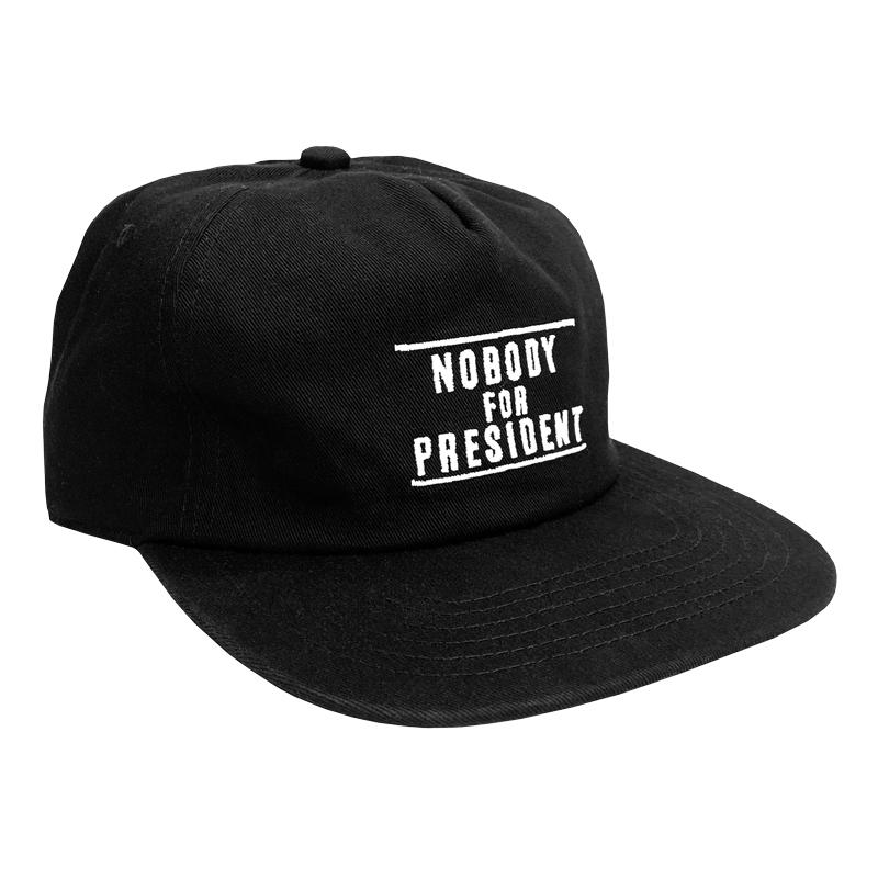 Cult Nobody For President Cap
