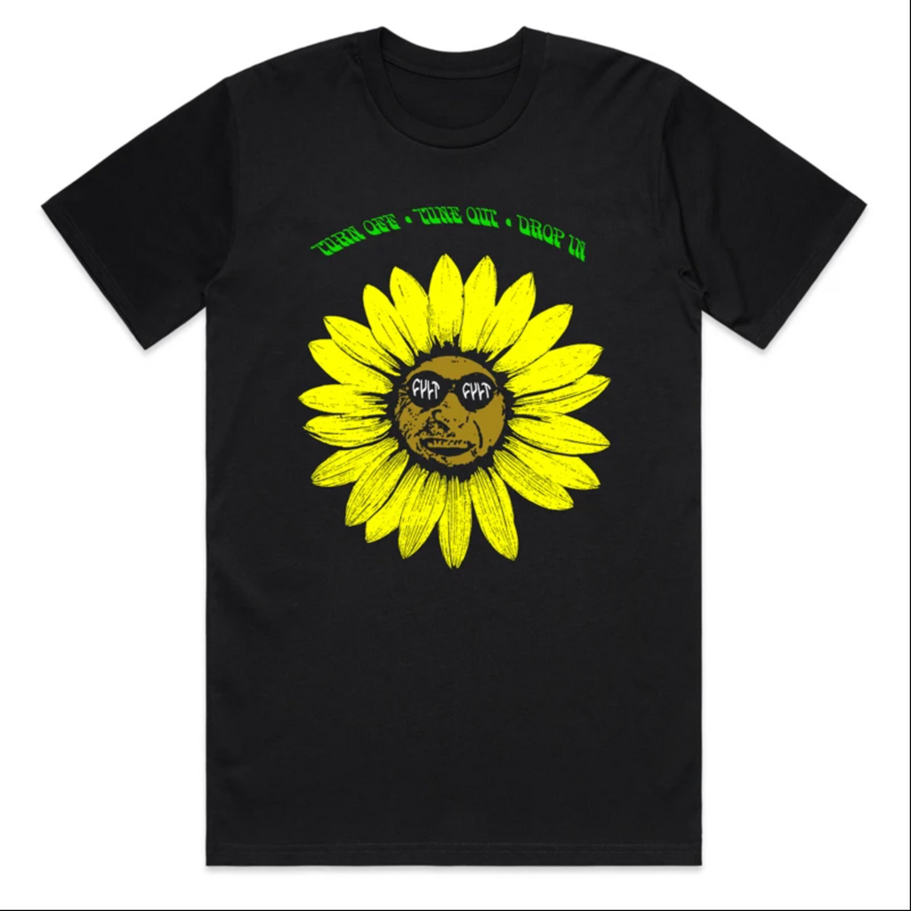Cult Sunflower Tee / black