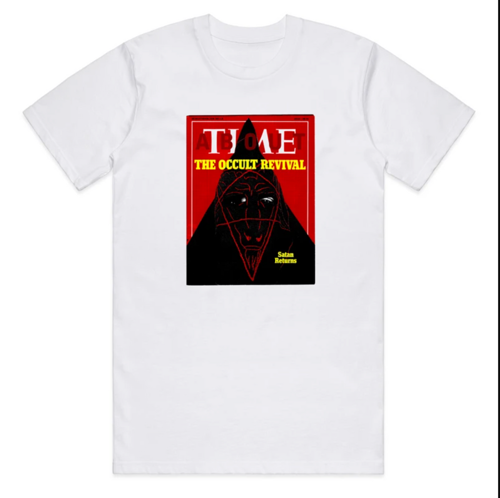 Cult Time Tee / white