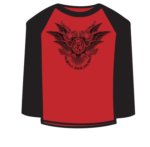 Pusher 3/4 Sleeve Eagle Tee