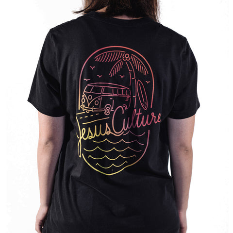 Unisex Summer Tee - Sunset