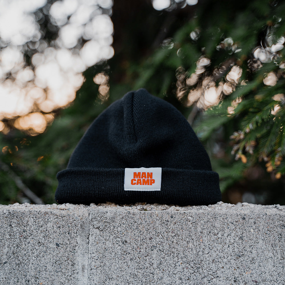 Man Camp Fisherman's Beanie