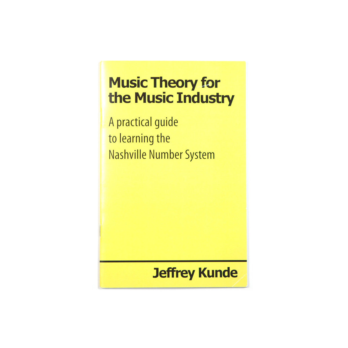 Backordered 2 Week Wait - Music Theory for the Music Industry