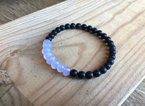 Faceted Chalcedony Bracelet
