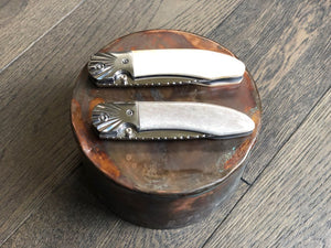 Aurora by Ursa Moose Antler Pocket Knife