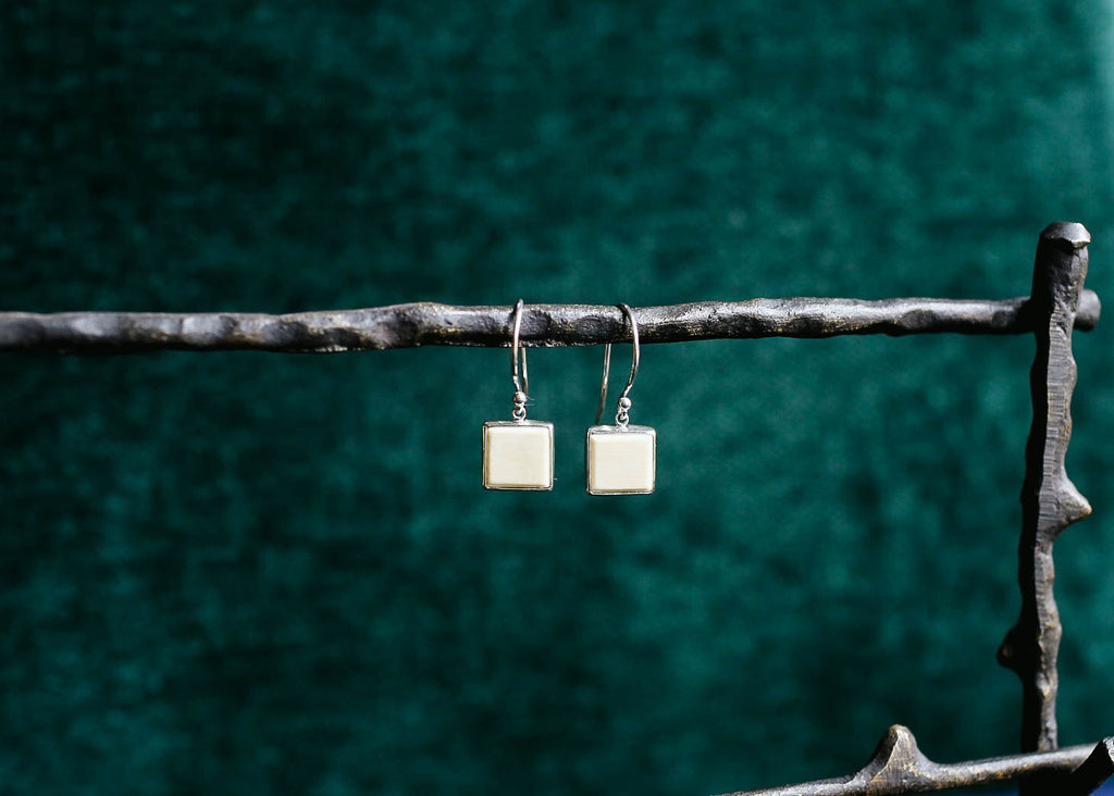 Square Mammoth Earrings