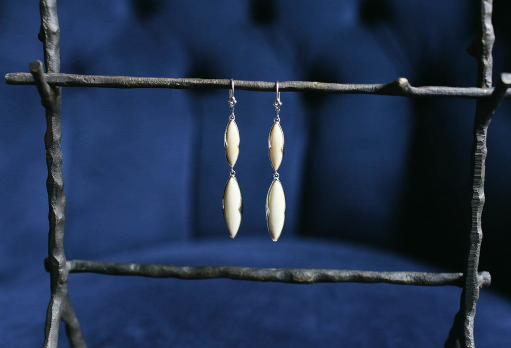 Mammoth Double Marquise Earrings