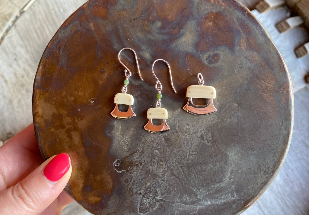 Ulu Earrings and Pendant