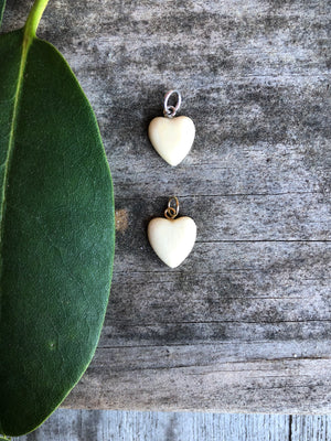 Small Puffed Heart Pendant