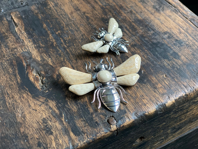 Wasp Pin/ Pendant