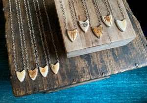 Mammoth Shield Necklace