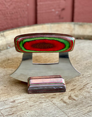 Dymondwood Ulu, Red and Green