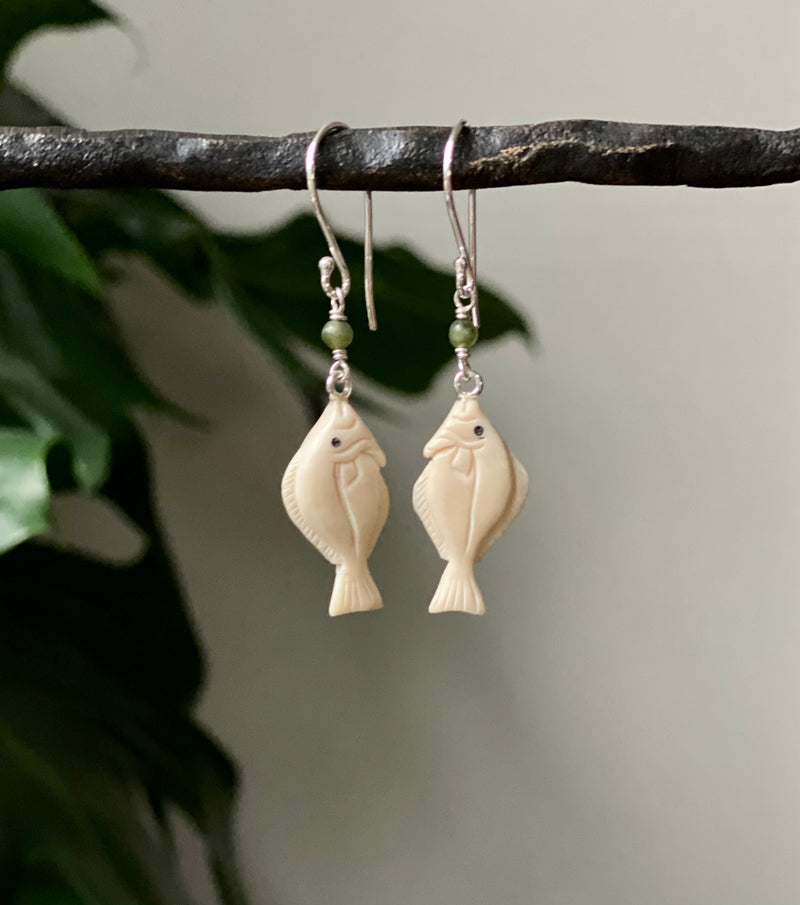 Halibut Earrings