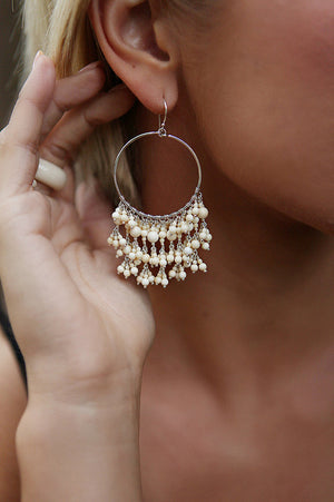 Large Hannah Fringe Earrings