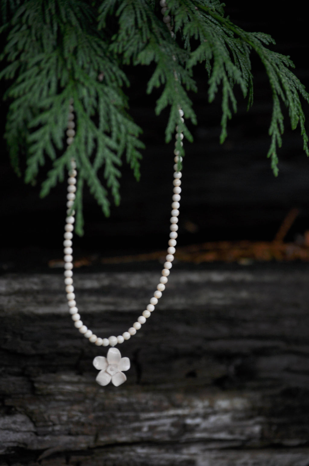 Mini Forget Me Not Necklace