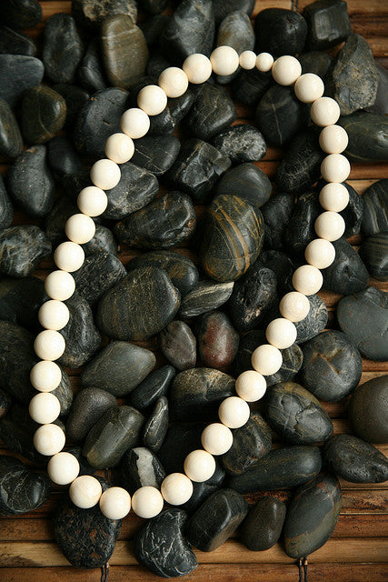 "14mm X 18"" Round Bead Necklace"