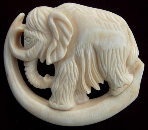 Mammoth Brooch