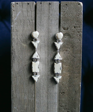 Linear Deco Post Earrings
