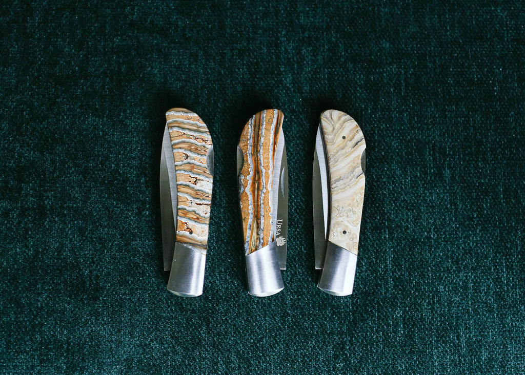 Ursa Mammoth Tooth Pocket Knife