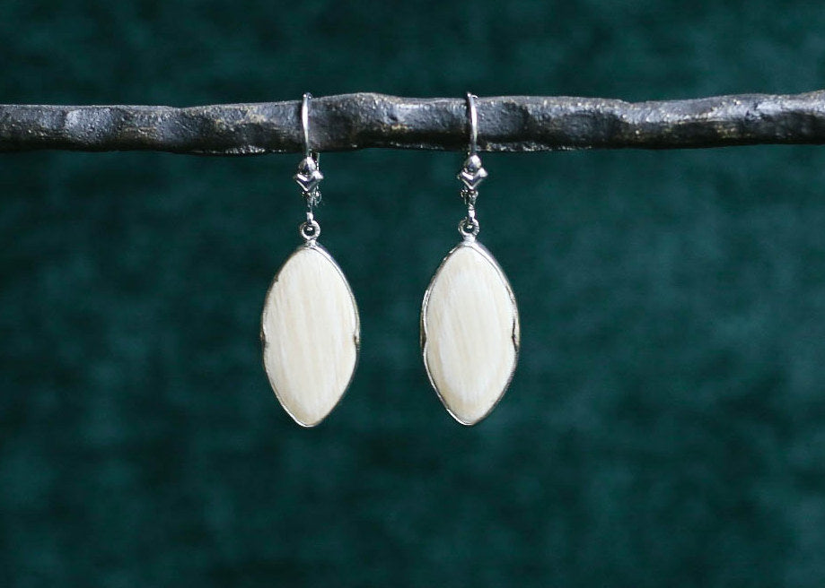 Mammoth Marquise Earrings