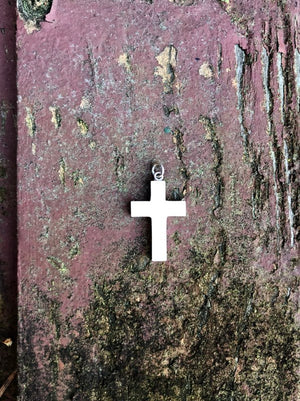 Mammoth Cross Pendant
