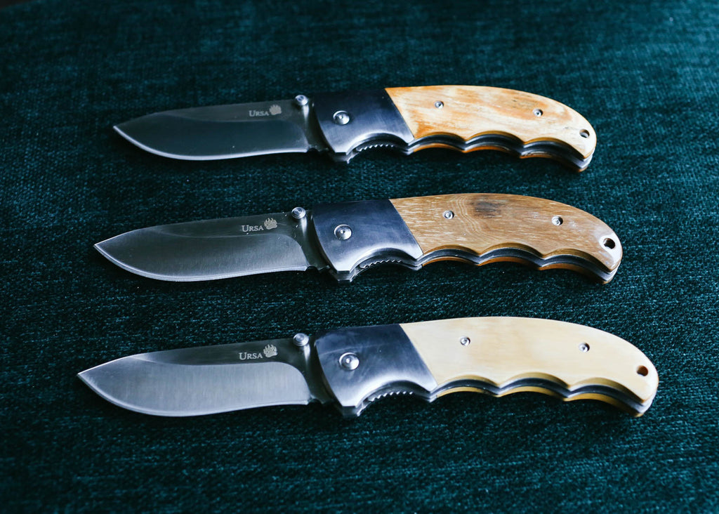 Fossil Knives for Men Prehistoric Woolly Mammoth Ivory
