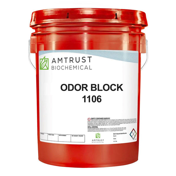 eliminates odors entirely with OdorBlock, 100% biodegradeable, non-hazardous and non-corrosive odor protection for commercial settings.