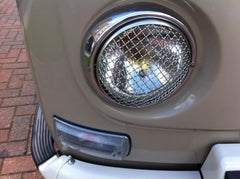 Vintage style mesh grills fits baywindow bus , '68 onwards bug , Type 3 and Ghia.