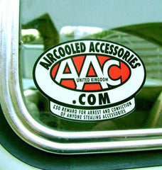 Aircooled Accessories Reward sticker