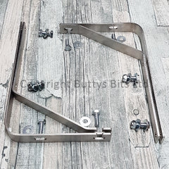 Mud Flap Mounting Brackets Fits '67 and Older Beetle