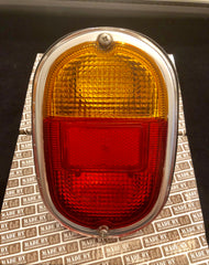 German quality rear light units orange / red lense .