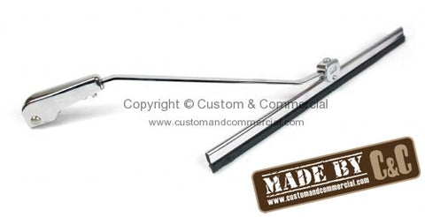 Bug Wiper Arm & Blade Kit Stainless Steel With Chrome Finish