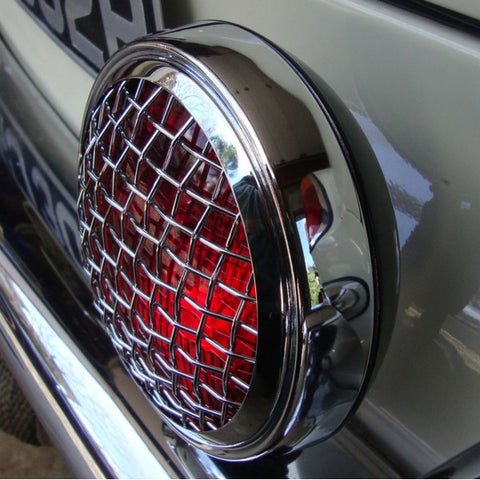 Mesh grill style red spot light by Aircooled Accessories
