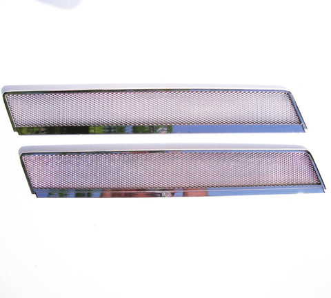 Split window bus vent trims