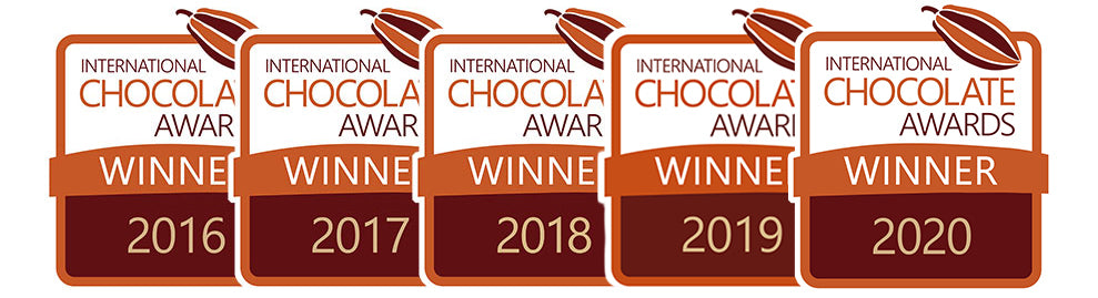 Gewinner International Chocolate Awards 2016 bis 2020