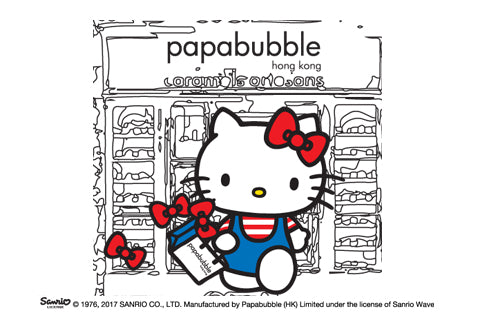 PAPABUBBLE X Sanrio