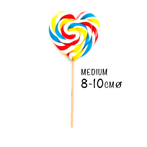 Love Heart Swirl Lollipop | PAPABUBBLE 西班牙手工糖 Best Gift for Events