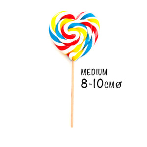 Love Heart Swirl Lollipop | PAPABUBBLE 西班牙手工糖